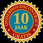 10 jaar gratis onderhoudscontract