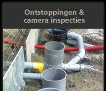 ontstoppingen & camera inspecties