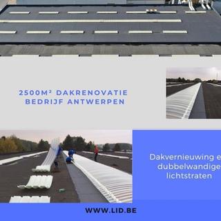 dakvernieuwing en dubbelwandige lichtstraten