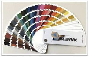 Selemix: kleurkaart industriële lak