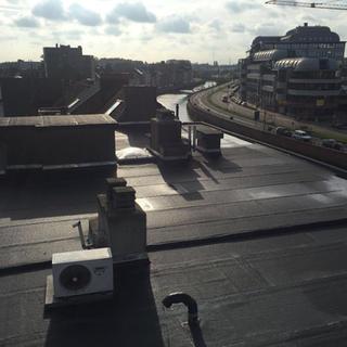 Roofing en PIR-isolatie Recticel - appartementsgebouw Mechelen