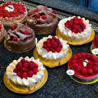 assortiment taarten