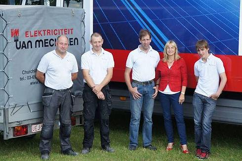 Van Mechelen Elektriciteit team