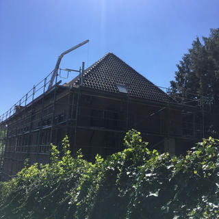400m² dakvernieuwing met pannen - Lasne