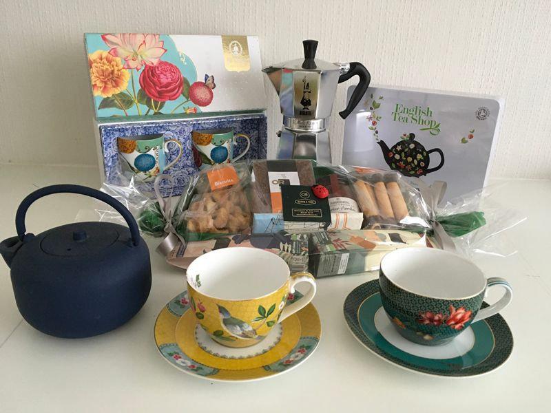 Koffie en thee Or geschenkartikelen