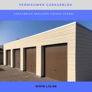gevelbekleding garage