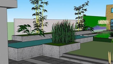 studiebureau voor tuinontwerp van hoog niveau