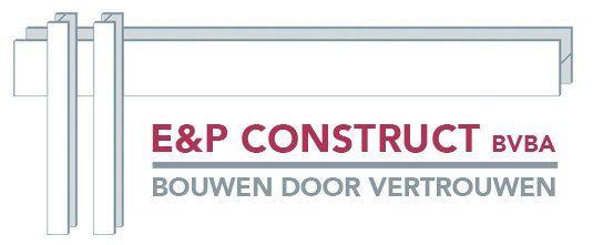 E&P Construct aannemer Zolder logo