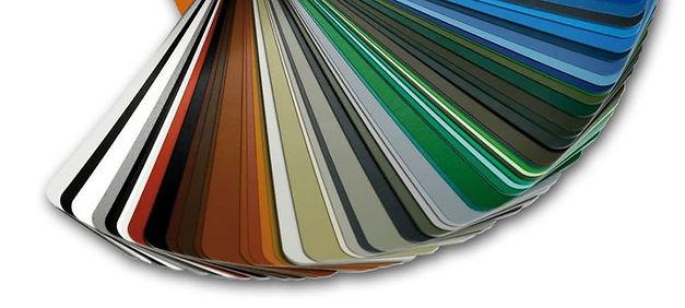 Ral kleuren voor gevelpoort