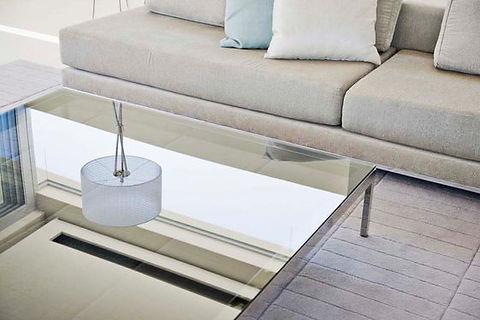 Glaswerken De Haes, glaswerk op maat, glazen salontafel