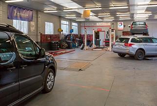 Onze garage in Lummen