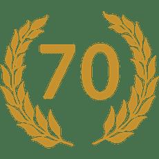 Reeds 70 jaar