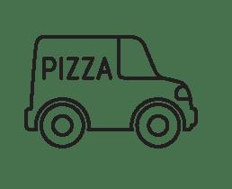 pizza camionnette