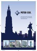 Peter Cox brochure
