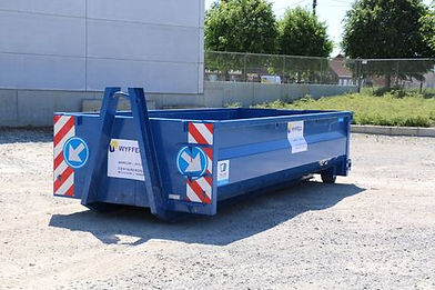 10m3 container Containers Wyffels
