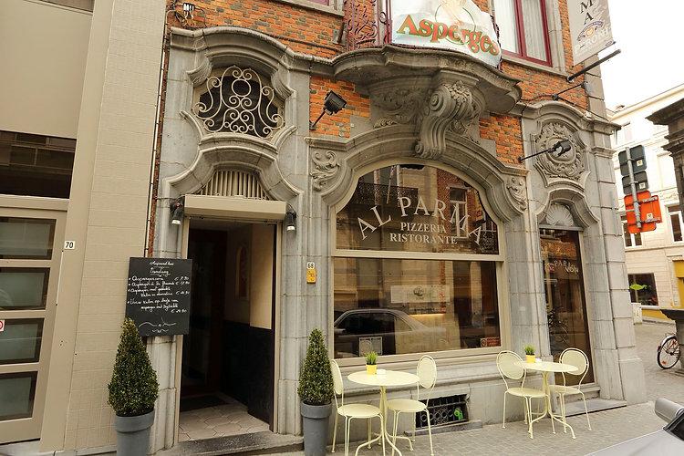 Voorgevel Italiaans Restaurant Al Parma Leuven