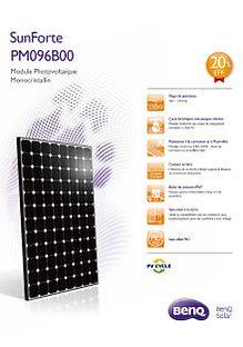 Ben Q Solar brochure