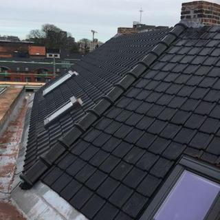 Isoleren van daken met afwerking pannen -KU Leuven