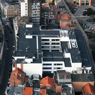 Roofing Soprema - BNP Parisbas Fortis Leuven