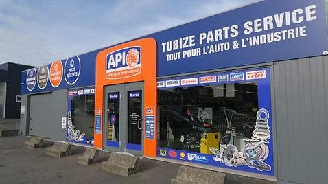 Le spécialiste des pièces, peintures et accessoires auto, Tubize Parts Service