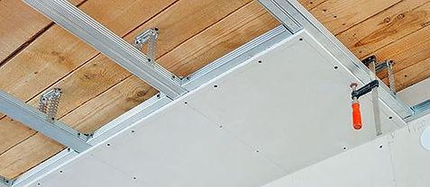 Cloison intérieur et faux-plafonds à EVERE et bruxelles