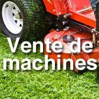 Vente de machines