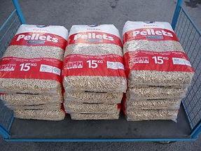 pellets bij Brandstoffen Vantomme in Wervik
