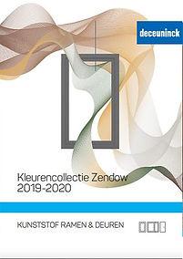 Kleurencollectie Zendow 2019-2020