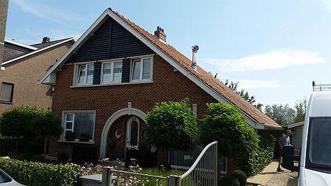 VOOR Renovatie dak en gevel met ceder