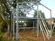 Contacteer ons voor Staalconstructies op maat