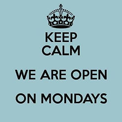 open op maandag