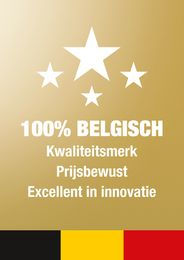 100% Belgisch kwaliteitsmerk - Deceuninck