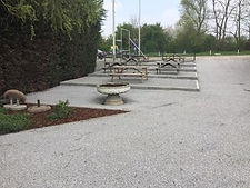 Oprit en parking aanleg grondwerken Limburg