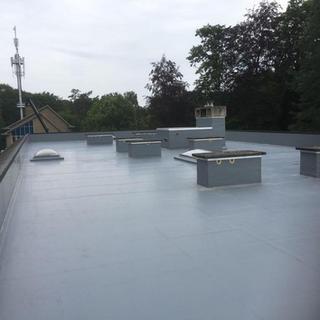Energetische dakvernieuwing met Rhepanol en PIR-isolatie