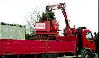 Cuypers Marc Geel vrachtwagen met droogzuigingspomp