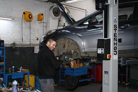 Garage Delhaye FORD à Erquelinnes