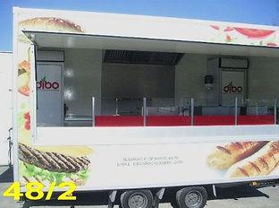 Frituurwagen te koop - hamburgerkraam en friet