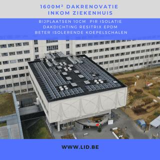 2021 DAK ziekehuis resitrix isolerende koepel PIR
