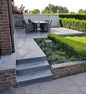 Terrassen en opritten in beton