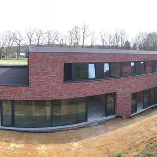 Resitrix EPDM dakbedekking - nieuwbouwwoning Diest