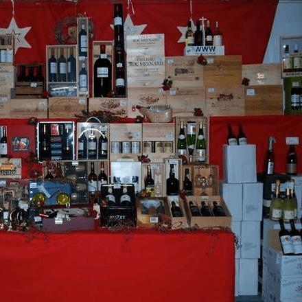 aanbod geschenkmanden Drinkmarket Van Loocke