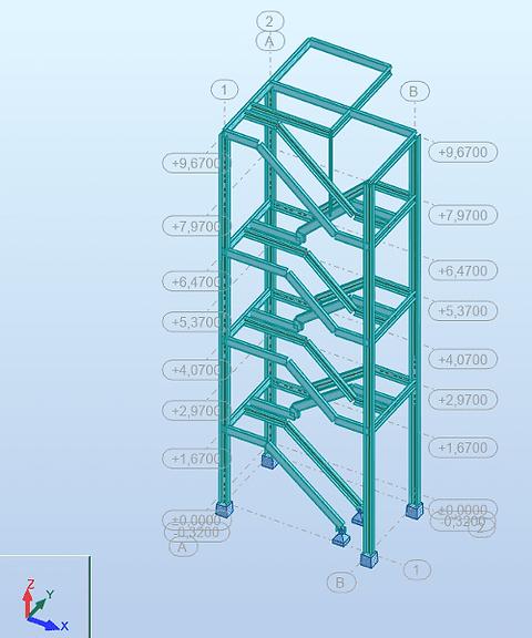 3D rekenmodel in RSA Professional - GS Construct