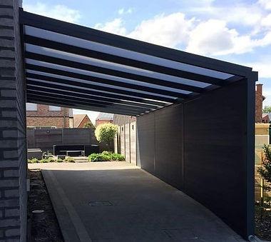 Aluminium carport op maat Limburg