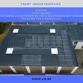 Dakrenovatie KMO-gebouw Kontich