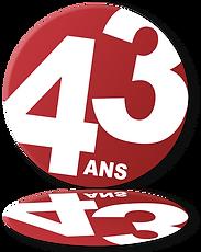 43 ans de confiance