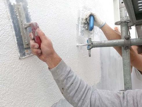 plaatsing van crépi bij renovaties