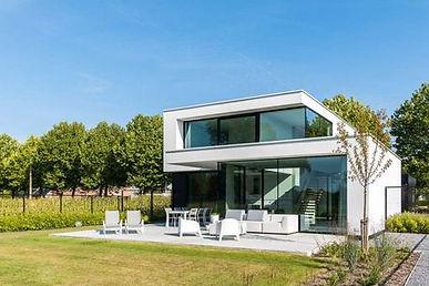 aluminium ramen moderne villawoning Aarschot