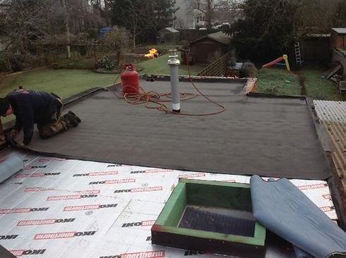 aanleg plat dak