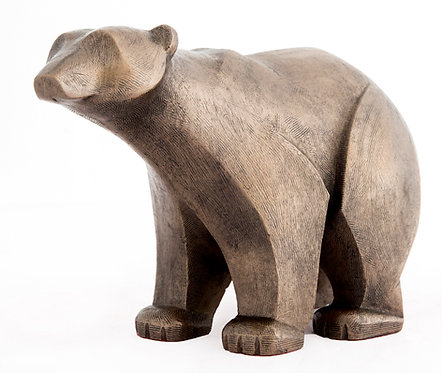 Polar Bear Standing - Bronze Finish