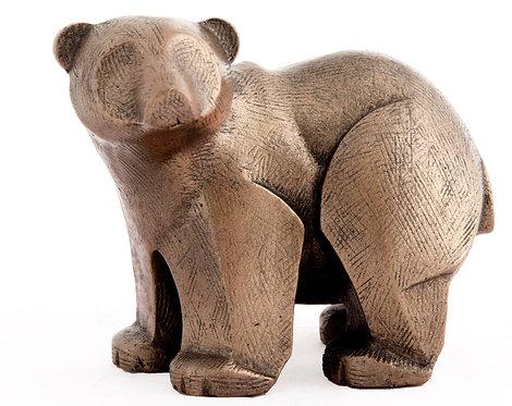 Polar Bear Cub - Bronze Finish